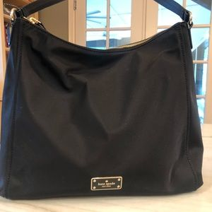 Kate spade nylon fabric hobo